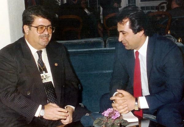 TURGUT OZAL-ELVEREN DAVOS SUBAT 1986