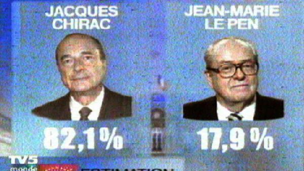Chirac-Le Pen