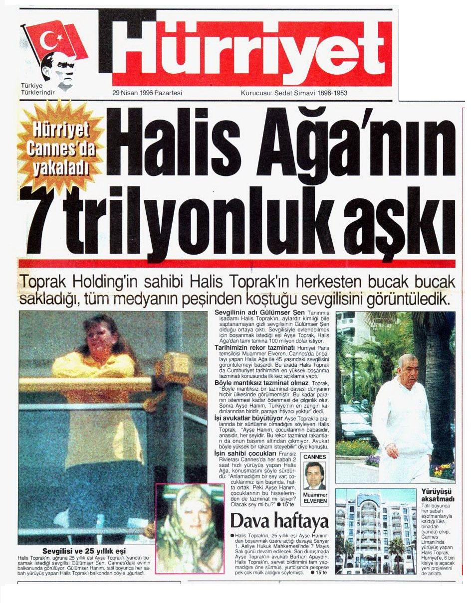 ISTE HALIS AGANIN 7 TRILYONLUK ASKI