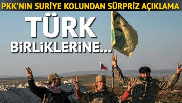 TURK ASKERINE YPG DESTEK VERDI